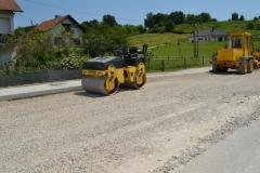 Uređenje ceste za poslovnu zonu