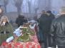 Božićni sajam djeca i deda mraz