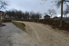 Cesta uz klizište u Lepoglavcu