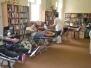dobrovoljno darivanje krvi u knjižnici