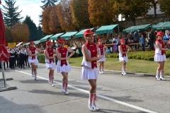 PO Lira i Desinićke mažoretkinje na Zahvali jeseni