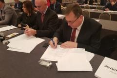 Potpisivanje ugovora za izgradnju novog vrtića Mjera 7.4.1
