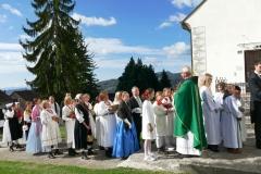 Zahvala jeseni u Klanjcu 2019 Misa zahvalnica