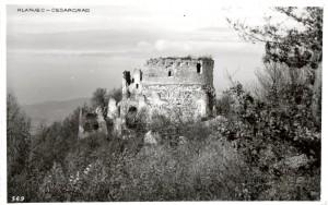 Sesargrad - ostaci glavne obrambene kule
