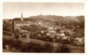Klanjec oko 1900. godine