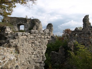Cesargrad, ostaci unutrašnjosti
