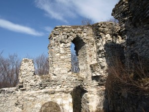 Cesargrad, ostaci gotičke dvorske kapele