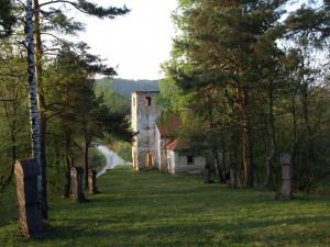 Pogled na kapelu sa vrha kalvarije