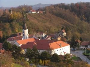 Samostan i crkva u Klanjcu