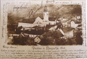 Klanjec oko 1880. godine