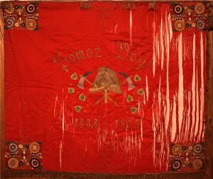 Zastava iz 1935. crvena strana