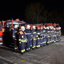 Obavijest o održavanju vatrogasne vježbe