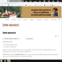 Klanječka župa ima svoju web stranicu