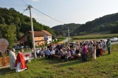 Blagoslov obnovljenog rasplela u Rakovcu