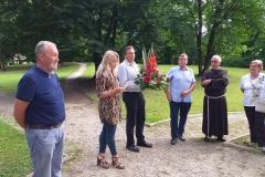 Obnovljen grob Otona Ivekovića