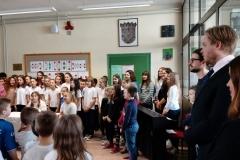 Predstavnici Veleposlanstva Finske u školi u Klanjcu