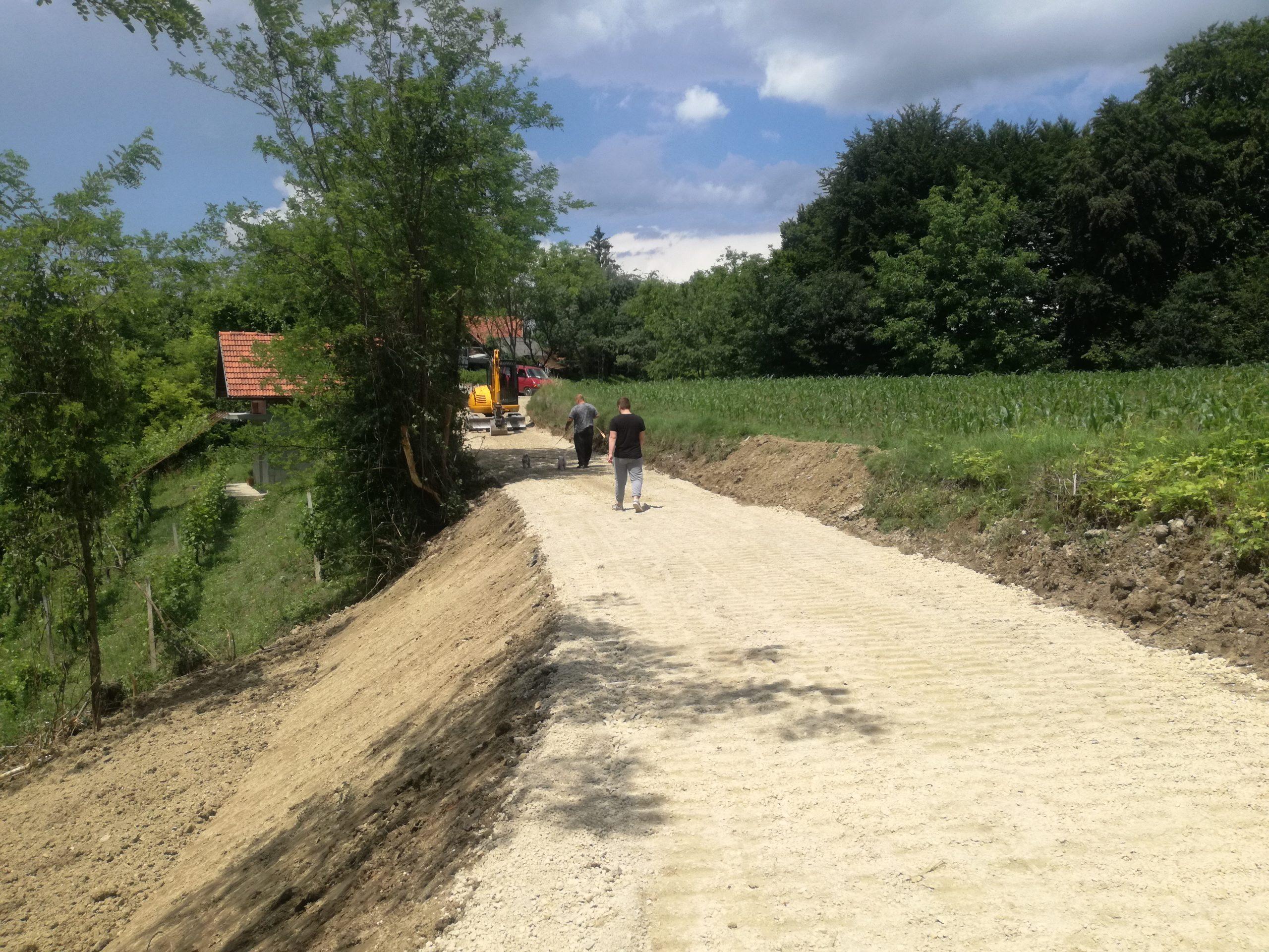 U tijeku su radovi na održavanju komunalne infrastrukture