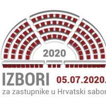 Glasovanje birača kojima je izrečena mjera samoizolacije – Izbori za Hrvatski sabor 2020.
