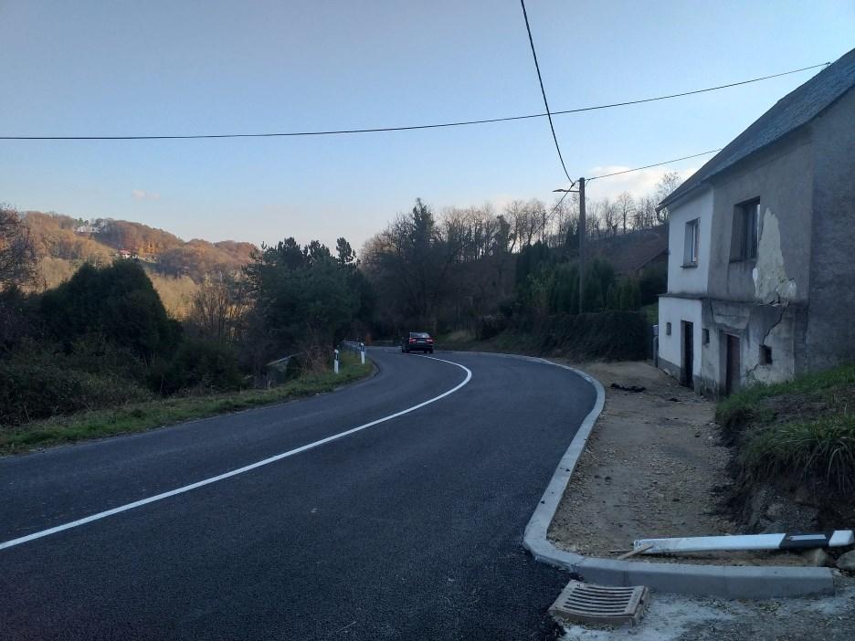 Modernizacija ceste od Klanjca do Dola Klanječkog