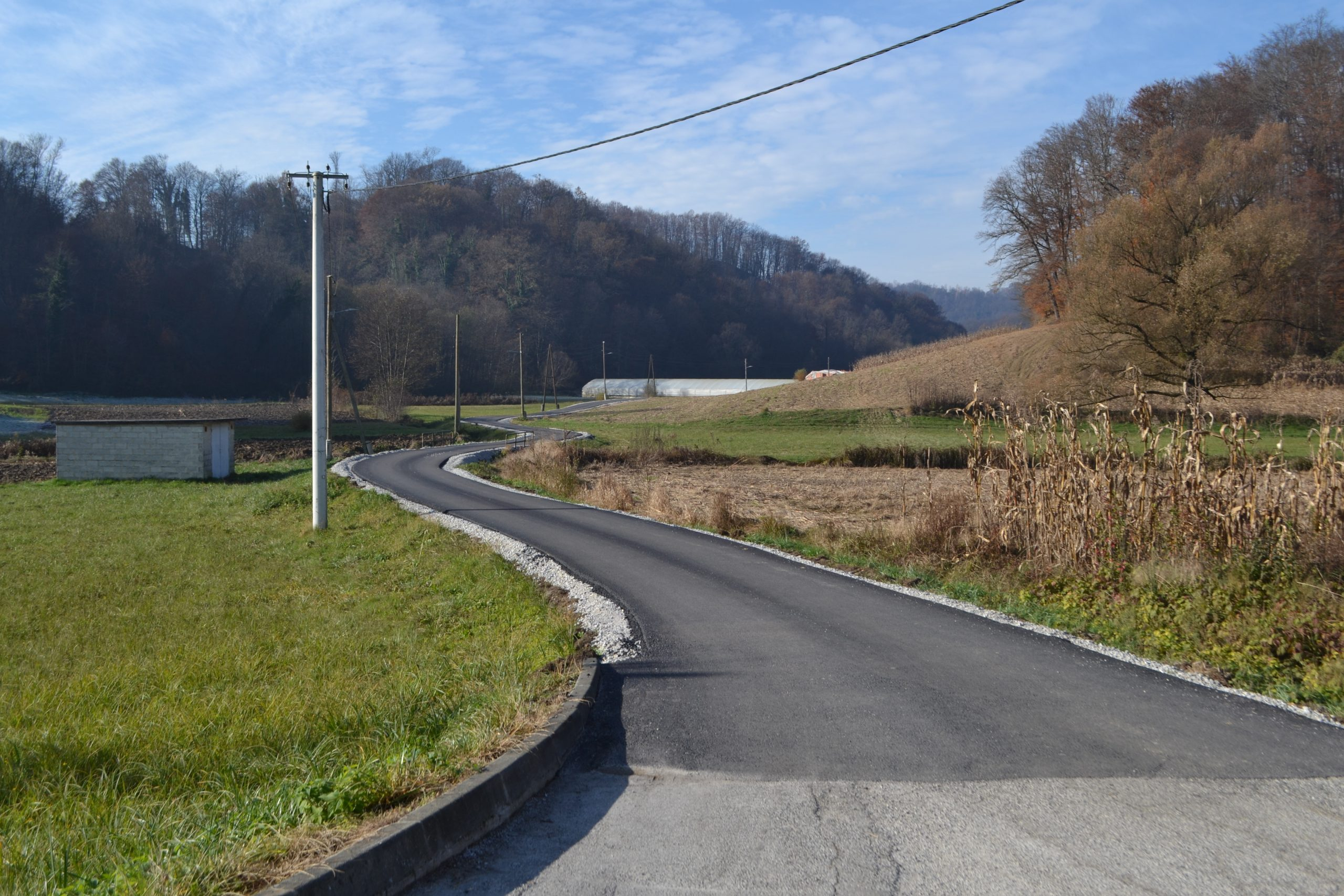 Završeno asfaltiranje 1400 metara nerazvrstanih cesta