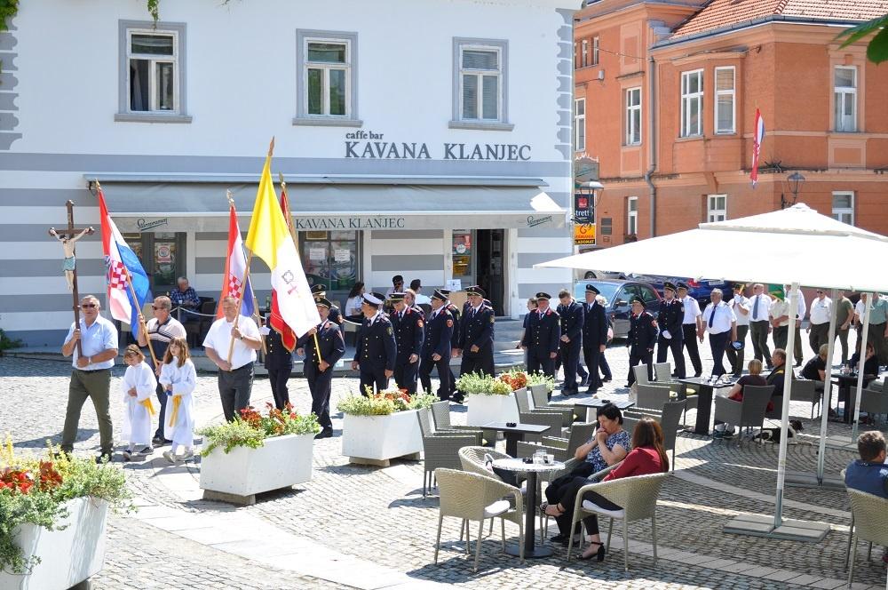 Tijelovska procesija u klanječkoj župi