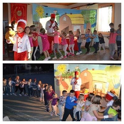 Vesela dječja predstava u Gredicama i Lučelnici